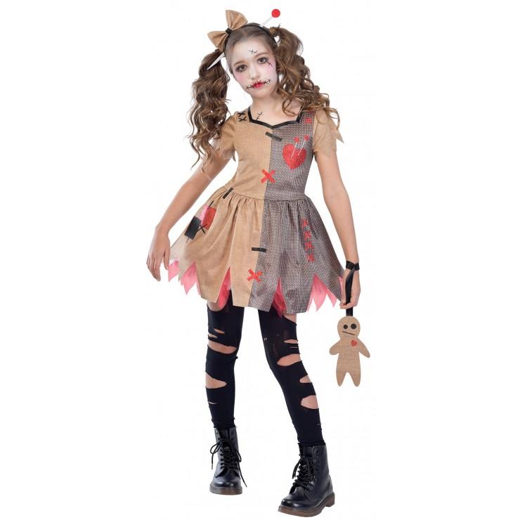 Déguisement poupée vaudou enfant