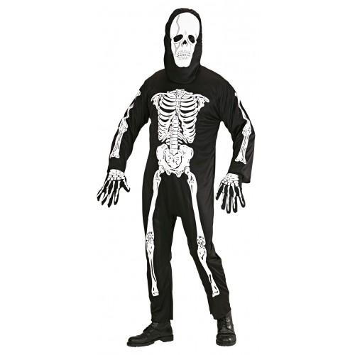 Déguisement de squelette adulte