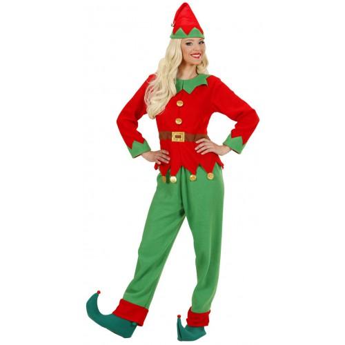Déguisement femme elfe du père Noël