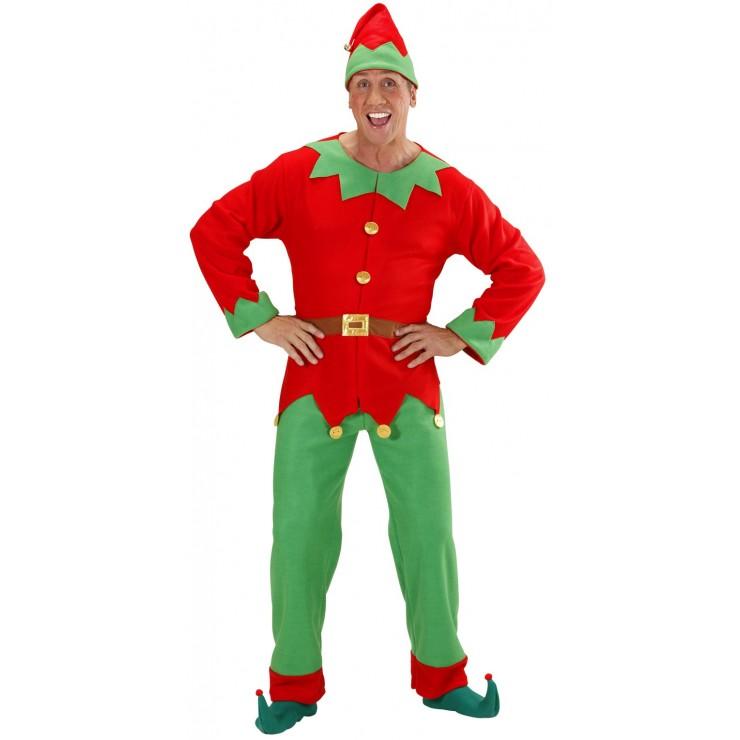 Déguisement elfe du père Noël