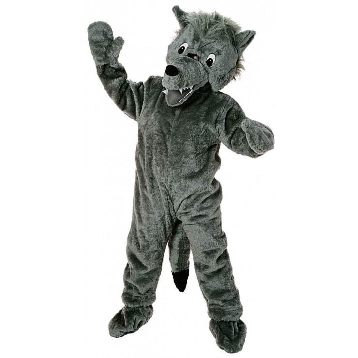 Mascotte grand loup
