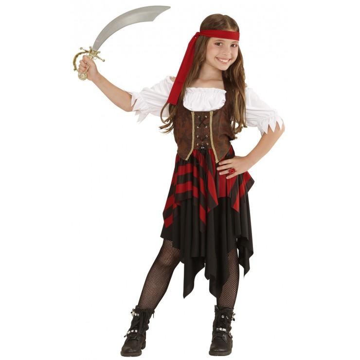 Déguisement fille pirate