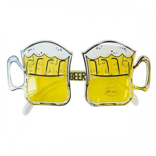 Lunettes chopes de bière