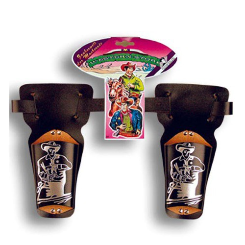 Double holster western enfant