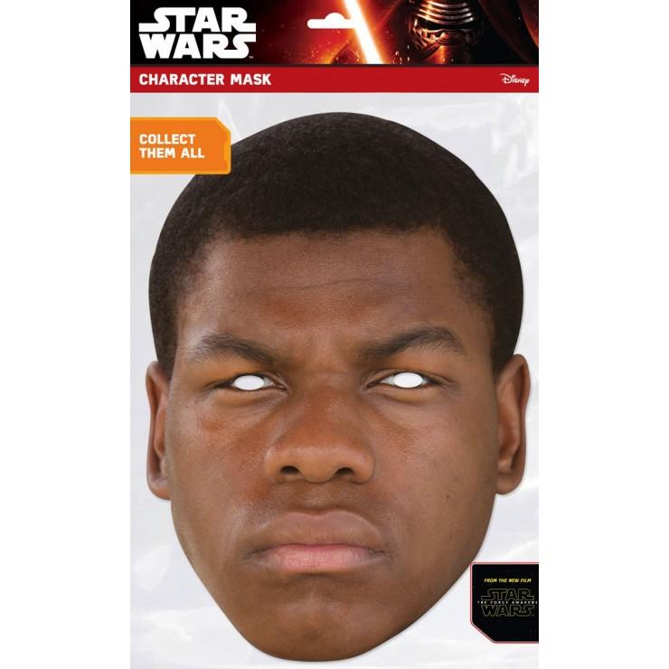 Masque carton Finn Star wars