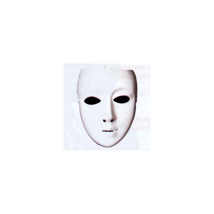 Masque blanc femme