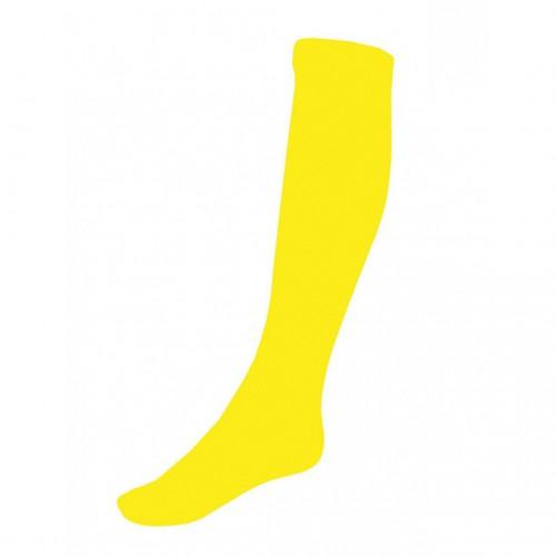 Chaussettes jaune fluo