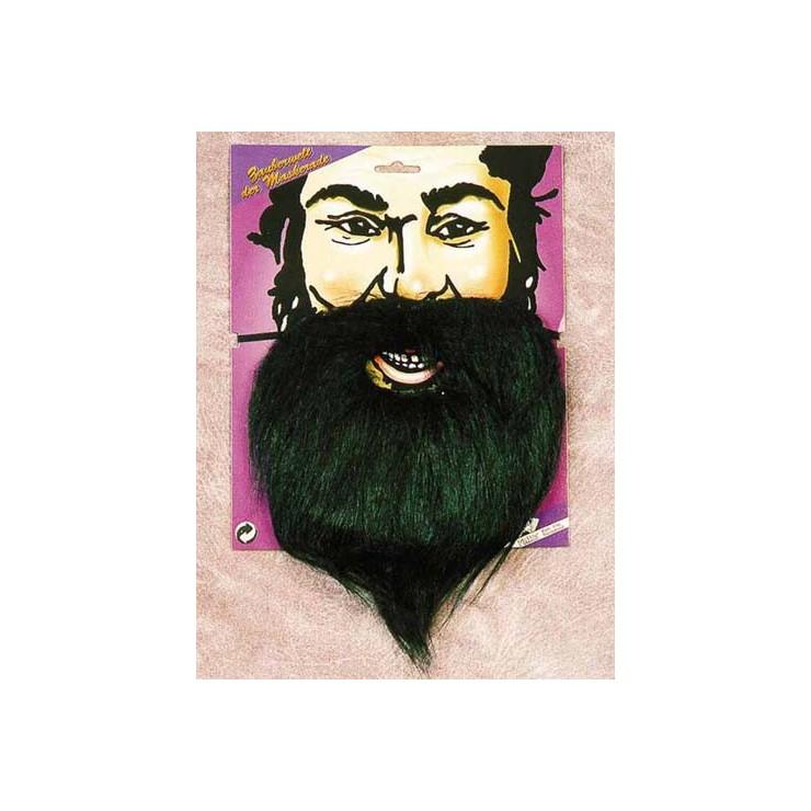 Grande barbe, noir