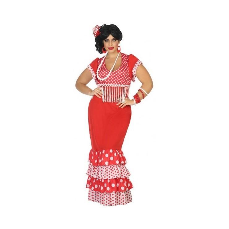 Robe danseuse flamenco