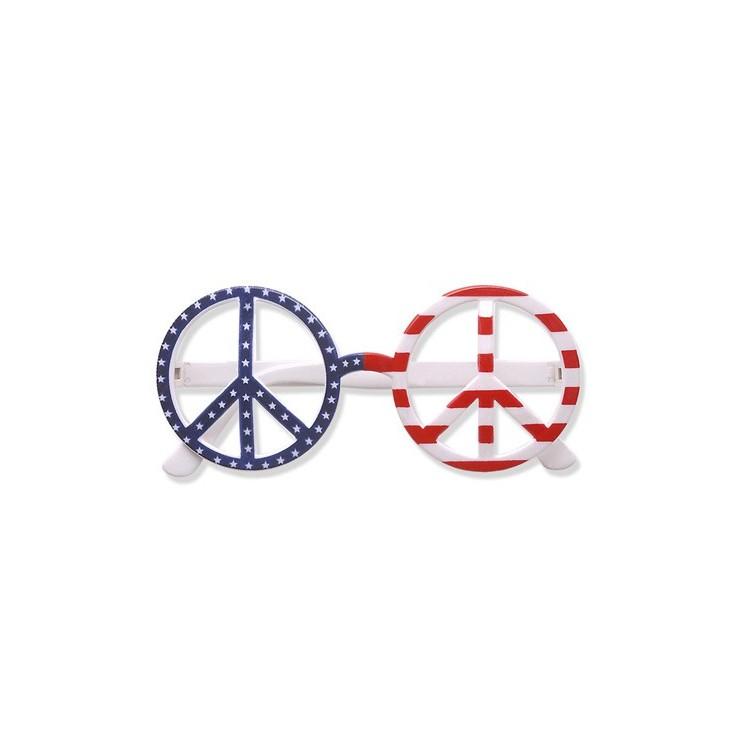 Lunettes Peace & Love USA