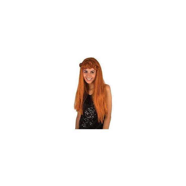 Perruque Nanette rousse