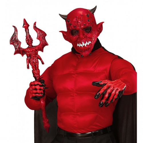 Gants de démon 3d