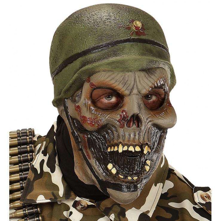 Masque soldat zombie