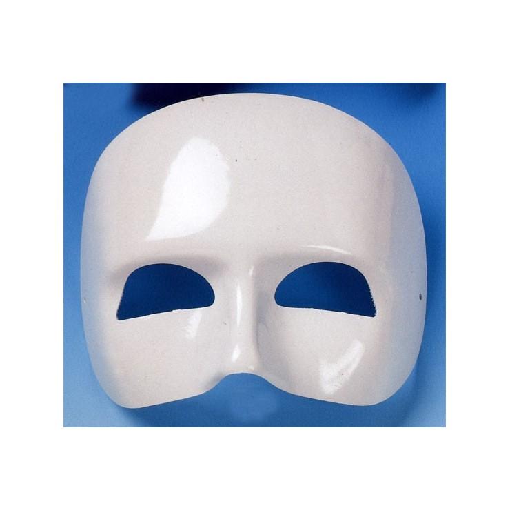Demi masque laqué