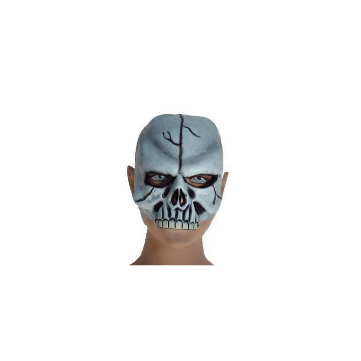 Demi masque tête de mort