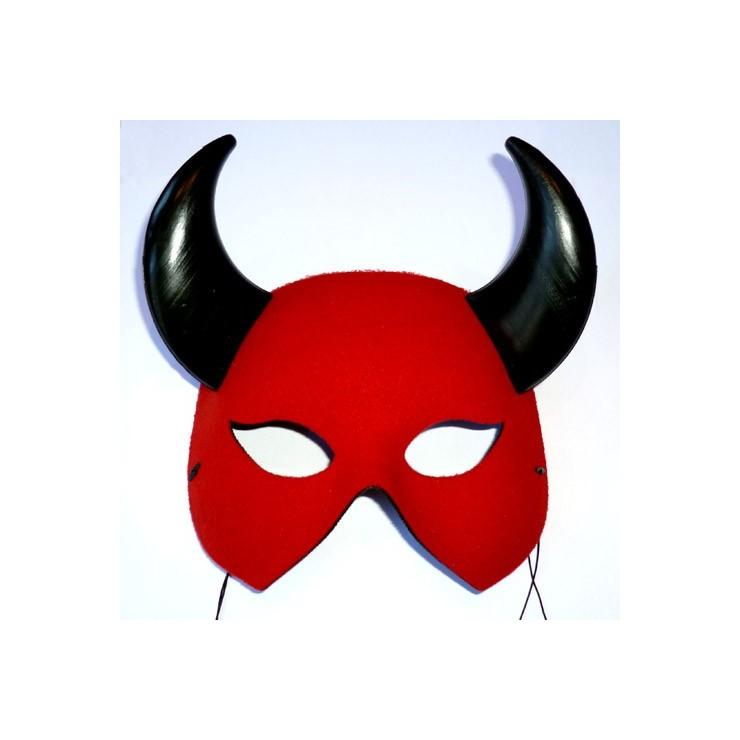 Loup diable rouge