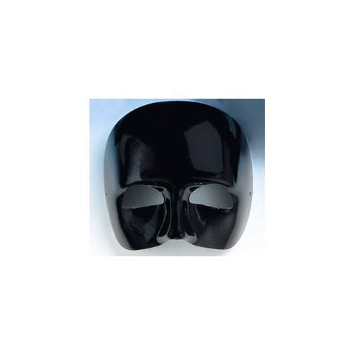 Demi-masque noir Viveur