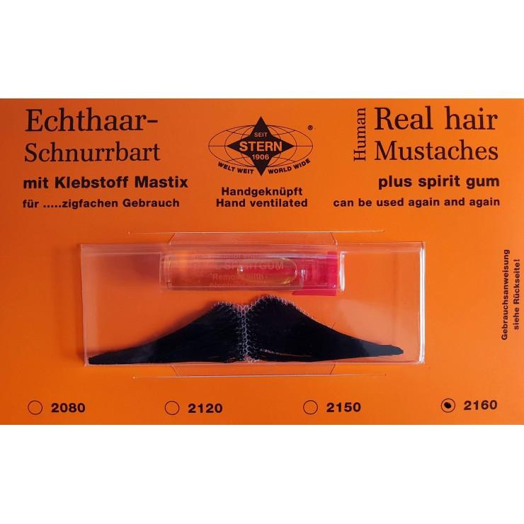 Moustache Menjou noire luxe