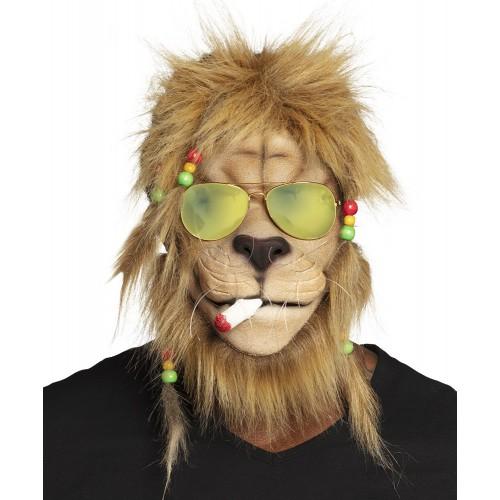 Masque rasta lion