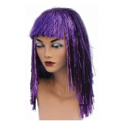 Lamée violette luxe