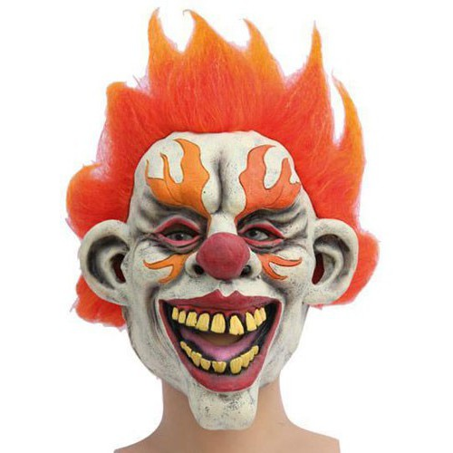 Clown enflammé