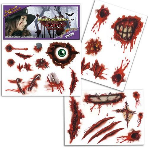 Tatouage blessures Halloween