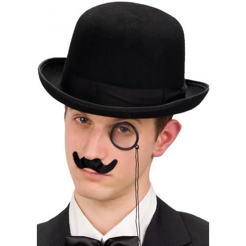 Set moustache et monocle Sherlock