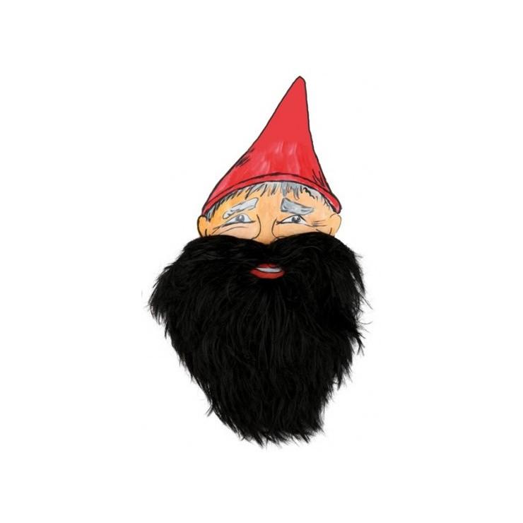 barbe noire de nain