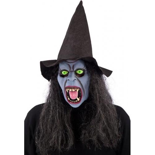 Masque sorcière bleue