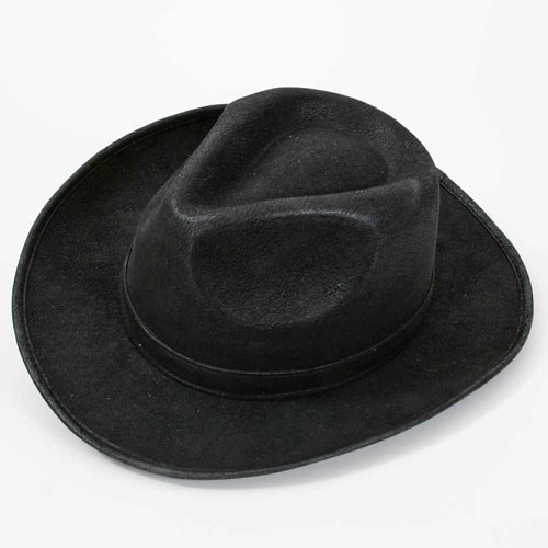 Borsalino aspect cuir