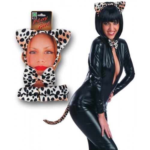 Set léopard