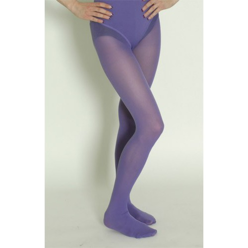 Collant opaque violet