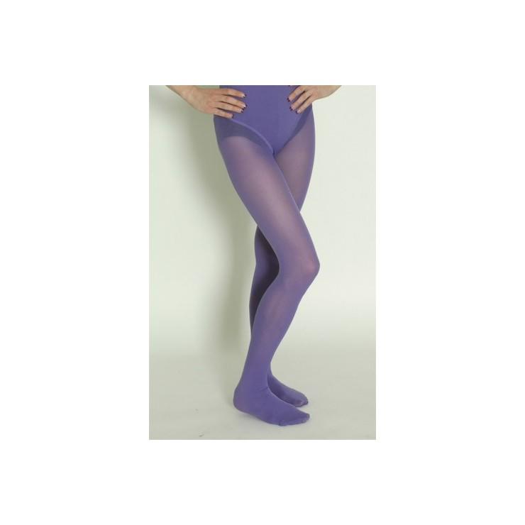 Collant opaque violet