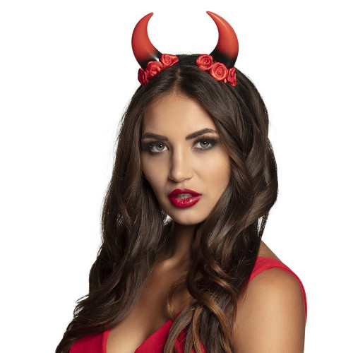 Tiare devil avec roses