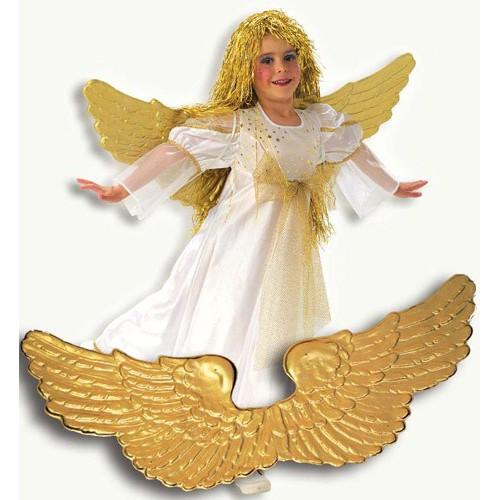Ailes d'ange dorées