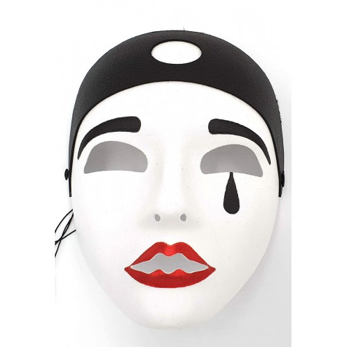Masque Pierrot luxe