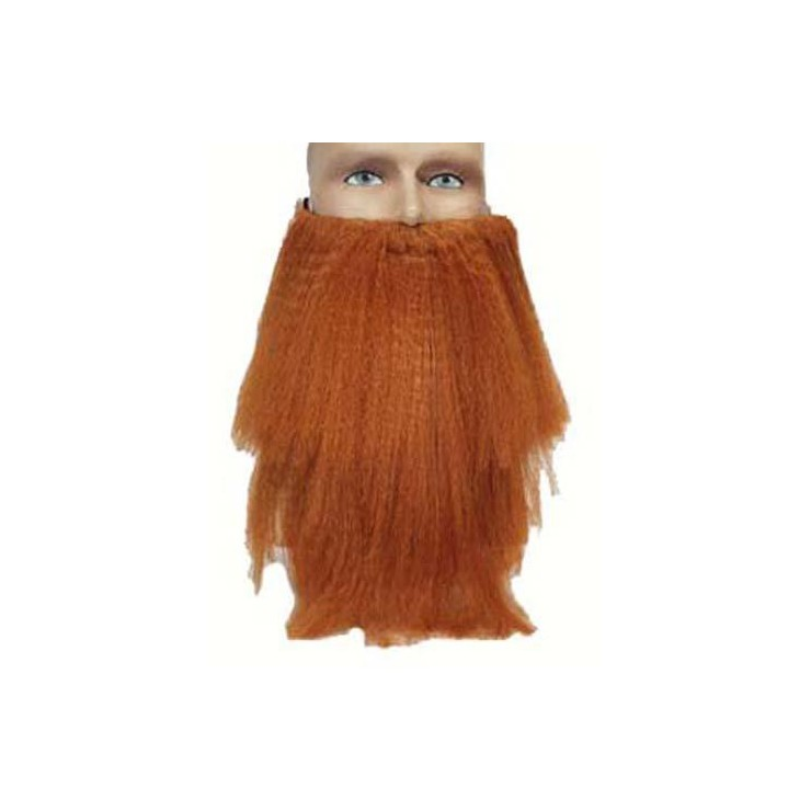 Barbe rousse