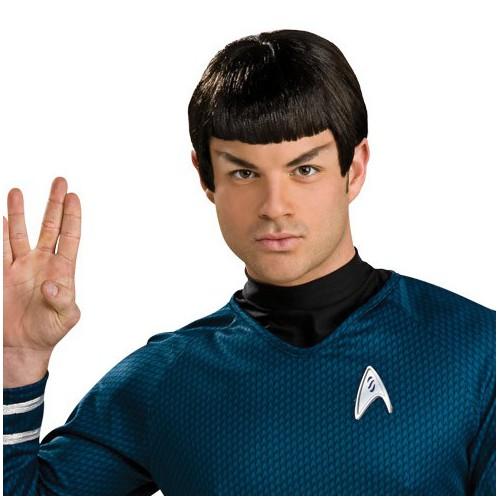 Perruque Spock avec oreilles