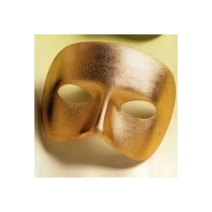 Demi-masque Casanova doré