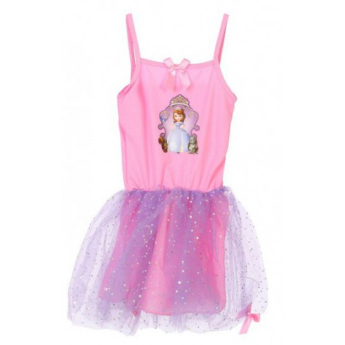 Robe princesse Sofia rose