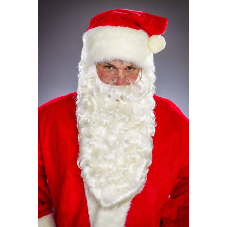 Barbe de père Noël super longue