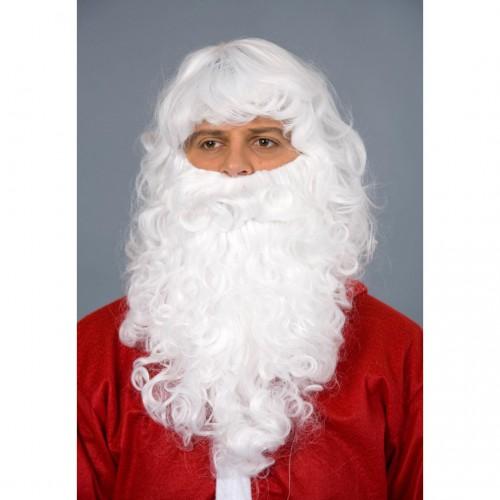Set père Noël blanc luxe
