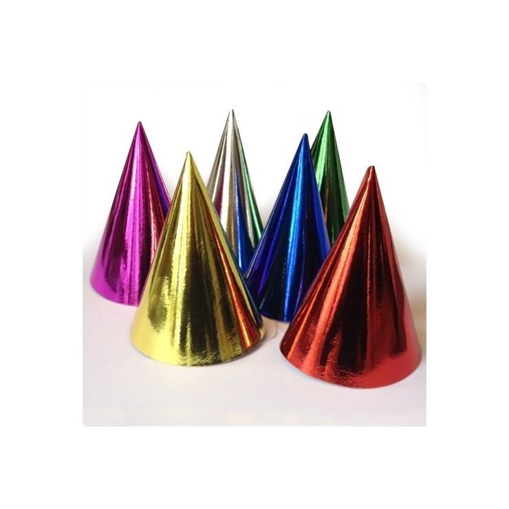 Chapeaux métal x6