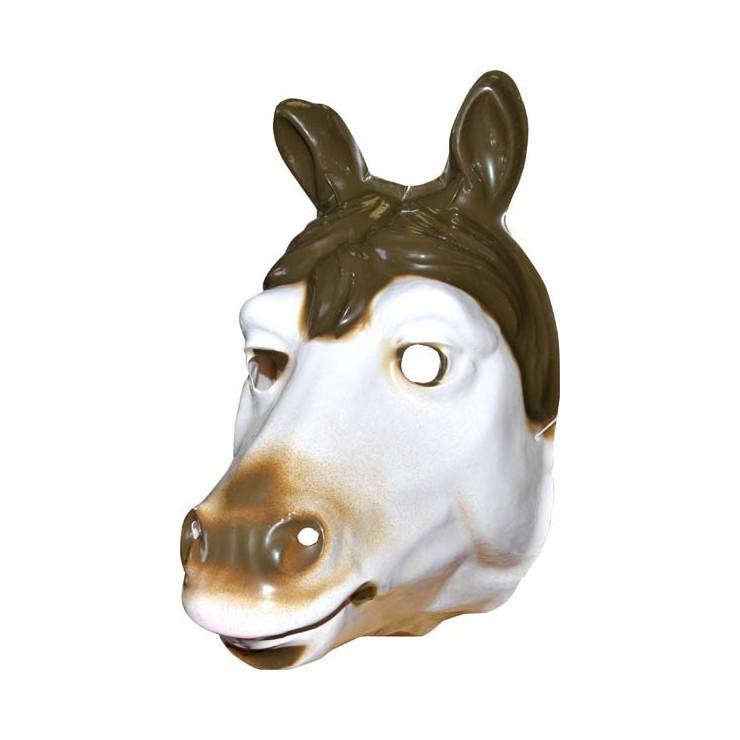 Masque rigide cheval