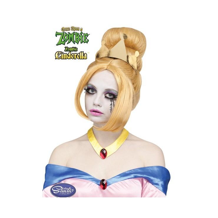 Perruque Cinderella zombie