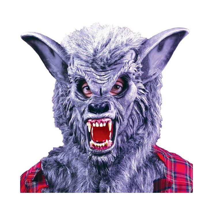 Masque loup garou gris