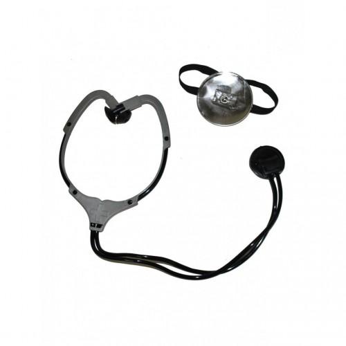 Stéthoscope et réflecteur frontal