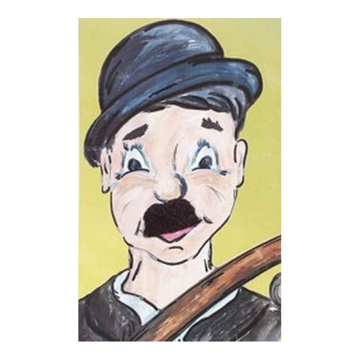 Moustache Charlot de luxe