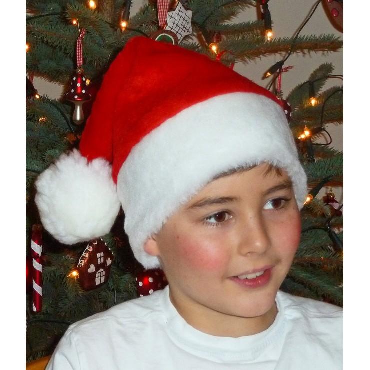 Bonnet de père Noël pour enfant