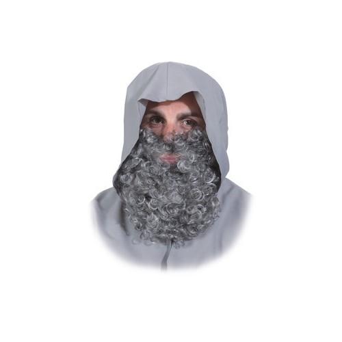 Barbe poivre et sel